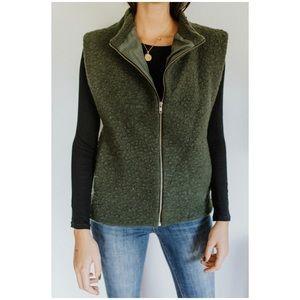 Wool Sherpa Vest